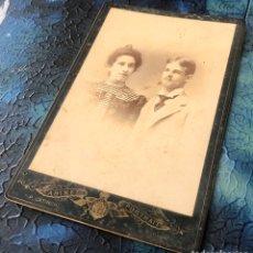 Fotografía antigua: FOTOGRAFÍA GABINET PORTRAIT.. Lote 194587747