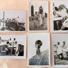 Photographie ancienne: VILLAJOYOSA 1929-1930 LOTE 6 FOTOGRAFIAS FOTOGRAFO PALOMERA ALCOY. Lote 194609511