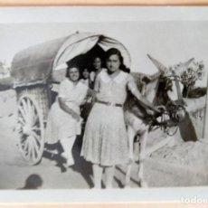 Fotografía antigua: ALCOY CARROS FOTOGRAFO SIRVENT LOTE 2 FOTOGRAFIAS. Lote 194612180