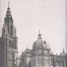 Fotografía antigua: GRAN FOTOGRAFÍA. TOLEDO. 24. LA CATEDRA. J. LAURENT Y CIA. 35 X 25 CM. Lote 194634056