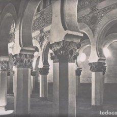 Fotografía antigua: GRAN FOTOGRAFÍA. TOLEDO. 291. VISTA INTERIOR DE STA. MARÍA LA BLANCA, ANTIGUA SINAGOGA. J. LAURENT. Lote 194635505