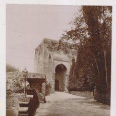Fotografía antigua: FOTOGRAFÍA. Nº 4. GRANADA. ALHAMBRA. PUERTA DE JUSTICIA. LINARES Fº 18 X 24 CM. Lote 194637061