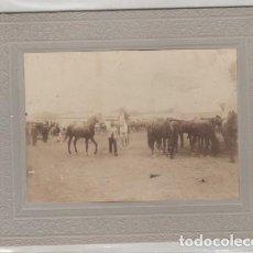 Fotografía antigua: FOTOGRAFÍA FERIA DE SEVILLA 1897. NO FIGURA FOTÓGRAFO. 12 X 9 CM. Lote 194709382