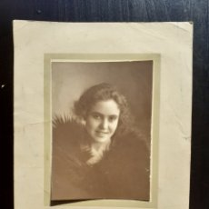 Fotografía antigua: ANTIGUA FOTOGRAFÍA DE ESTUDIO.. Lote 194770860