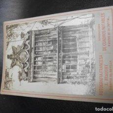 Fotografía antigua: SIGLO XIX FOTOGRAFIA ALBUMINA DE SEVILLA - UNA VENTANA - FOTO E. BEAUCHY . Lote 194771242
