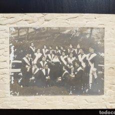 Fotografía antigua: ANTIGUA FOTOGRAFÍA MONJA Y NOVICIAS.. Lote 194774723