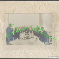 Fotografía antigua: DESPUÉS DE LA COMIDA. ELCHE, ALICANTE. PRINCIPIOS DEL SIGLO XX. FOTÓGRAFO DESCONOCIDO.. Lote 194877080