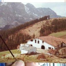 Fotografía antigua: FOTOGRAFIA ALTO DE UDALA 1983 ORIGINAL CASERIO. Lote 194881265