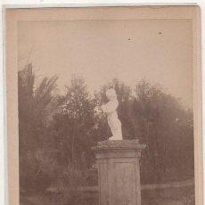 Fotografía antigua: FOTOGRAFÍA Nº 140 SEVILLA. PALACIO DE SAN TELMO. JARDINES. ALMELA FOTÓGRAFO. . Lote 194884213