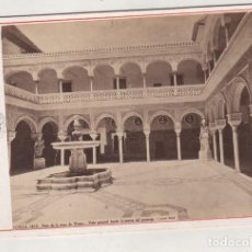 Fotografía antigua: LAURENT SEVILLA 1412 PATIO DE LA CASA DE PILATOS. VISTA GENERAL DESDE LA PUERTA DEL PRETORIO.. Lote 194886282