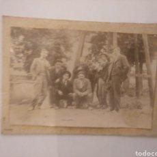Fotografía antigua: ALBÚMINA GRUPO DE JÓVENES.. Lote 195035283