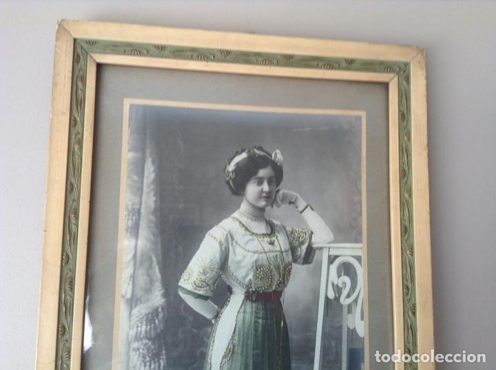 Fotografía antigua: RETRATO DE UNA DAMA - Foto 5 - 195137561