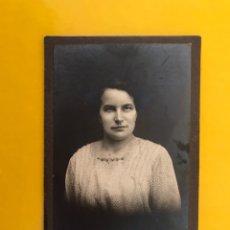 Fotografía antigua: LANDSBERG A/L (ALEMANIA) FOTOGRAFÍA JOVEN SEÑORA. FOTOGRAFO: JOSEF LUTOR (A.1918). Lote 195160615