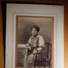 Fotografía antigua: ANTIGUA FOTOGRAFÍA - J.C. SANJUAN - ÉCIJA - SEVILLA - 24 X 17 CM. - SOBRE CARTÓN RÍGIDO - MUY BONITA. Lote 195264651