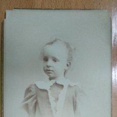 Fotografía antigua: EL REY ALFONSO XIII NIÑO, 14 X 10,5 CM. FOTO.. Lote 195322378
