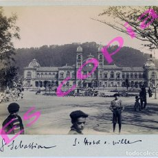 Fotografía antigua: ALBÚMINA SAN SEBASTIAN / DONOSTIA. Lote 195424165