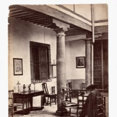 Fotografía antigua: TOLEDO - FOTO: JEAN LAURENT 1870 APROX. 24,5X32 CM.. Lote 195747677
