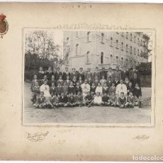 Fotografía antigua: MADRID.- FOTO ESCOLAR. CONGREGACIÓN DE LOS SAGRADOS CORAZONES DE JESÚS Y DE MARÍA. 34X28.. Lote 196340958