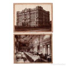 Fotografía antigua: NAPOLI.(ITALIA).- GRAND HOTEL, 27,5X20,5.. Lote 196347633