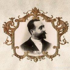 Fotografía antigua: RUPERTO CHAPÍ.(VILLENA 1851-MADRID 1909). COMPOSITOR DE ZARZUELAS ESPAÑOL. 30X30.. Lote 196552577