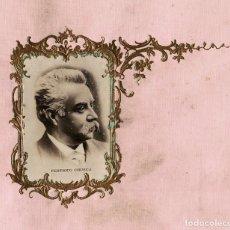 Fotografía antigua: FEDERICO CHUECA.(MADRID 1846 - 1908). COMPOSITOR. ÓPERA, ZARZUELA Y GÉNERO CHICO. 30X25.. Lote 196553441