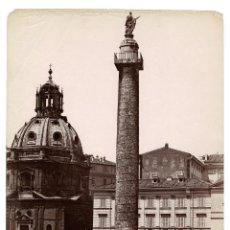 Fotografía antigua: ROMA.- COLUMNA DE TRAJANO. 20X27.. Lote 196804263