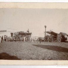 Fotografía antigua: LABORES DEL CAMPO. AVENTADORA DE TRIGO. 33X26.. Lote 196865511