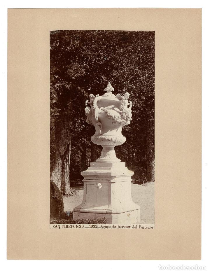 SEGOVIA.- PALACIO REAL DE LA GRANJA DE SAN ILDEFONSO. J. LAURENT. 32X25. (Fotografía Antigua - Albúmina)