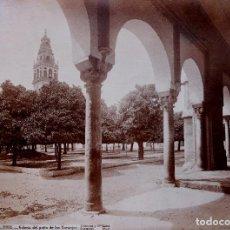 Fotografía antigua: CÓRDOBA. 2152. GALERÍA DEL PATIO DE LOS NARANJOS. LAURENT. Lote 196979235