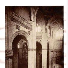 Fotografía antigua: SALAMANCA.- VISTA DEL CRUCERO DE LA CATEDRAL. J. LAURENT Y Cª. 33X25.. Lote 197120062