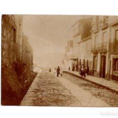Fotografía antigua: SANTIAGO DE COMPOSTELA.(LA CORUÑA).- CASA DE RAMÓN. PATIO DE SAN ANDRES Nº14. 8,5X11.. Lote 197214906