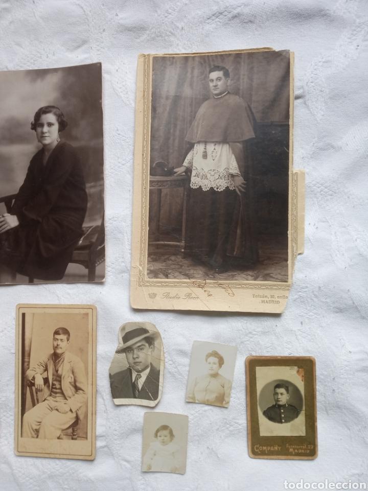 Fotografía antigua: Lote fotografia antigua.albumina. fotos.damas.posados.fototipia.madrid.barcelona.postal.grabado - Foto 2 - 198181801