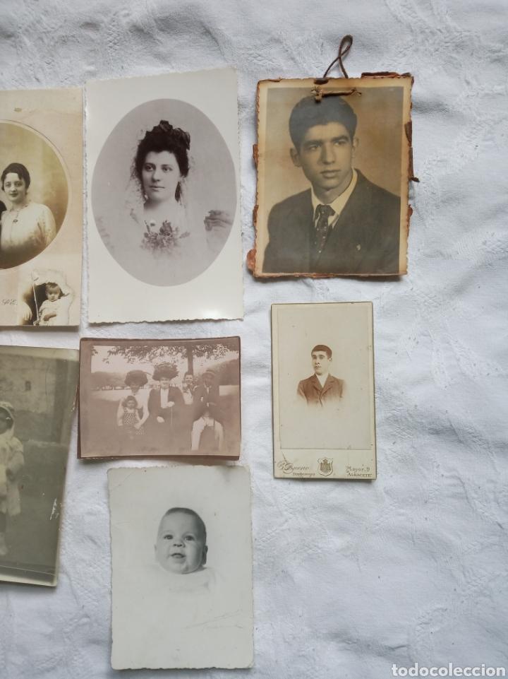 Fotografía antigua: Lote fotografia antigua.albumina. fotos.damas.posados.fototipia.madrid.barcelona.postal.grabado - Foto 3 - 198182143