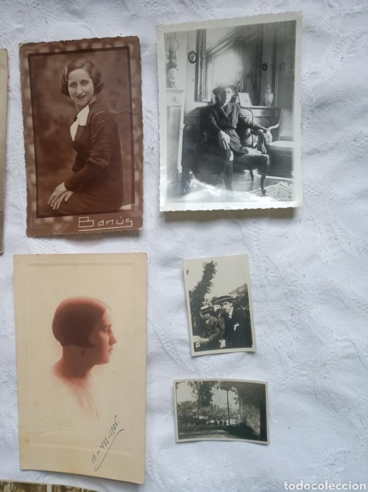 Fotografía antigua: Lote fotografia antigua.albumina. fotos.damas.posados.fototipia.madrid.barcelona.postal.grabado - Foto 3 - 198182428