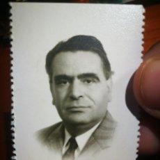 Fotografia antica: FOTOGRAFÍA SEÑOR FOTOGRAFÍA TIPO CARNET FOTO GARAY BILBAO. Lote 199001022