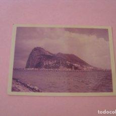 Fotografía antigua: FOTO DEL PEÑON GIBRALTAR. 13X9 CM. PAPEL KODAK. . Lote 199242830