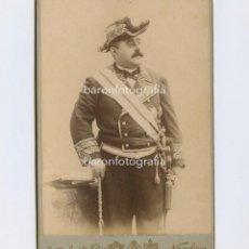 Fotografía antigua: RAMÓN LARROCA Y PASCUAL (1847-1919) POLÍTICO ESPAÑOL. FOTO: NAPOLEÓN, BARCELONA. 11X16 CM.. Lote 199679960