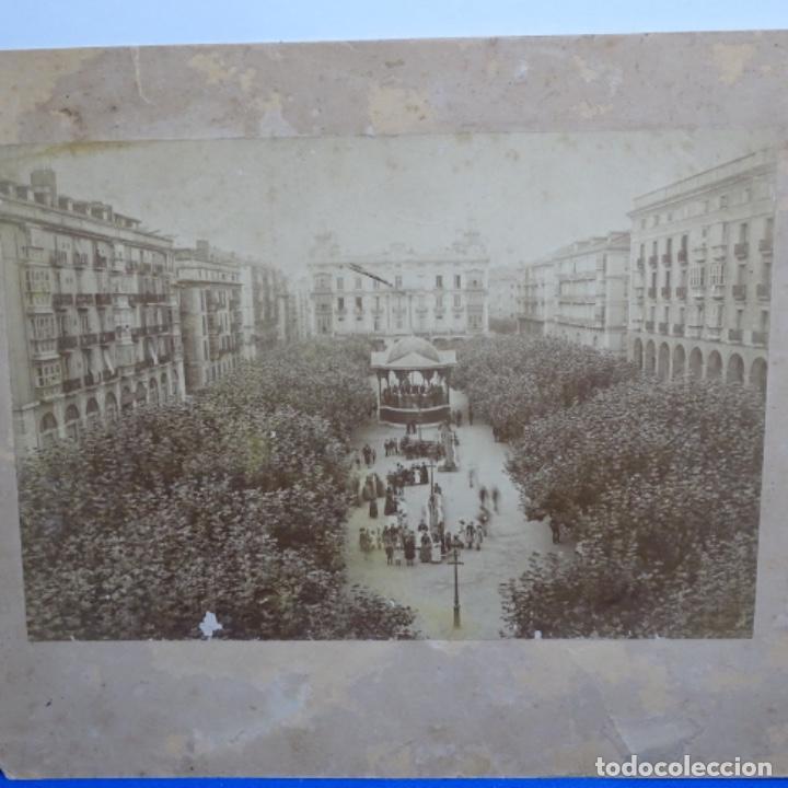ANTIGUA FOTOGRAFÍA ORIGINAL DEL S.XIX.DE SANTANDER POR ANICETO GONZALEZ. (Fotografía Antigua - Albúmina)