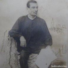 Fotografía antigua: FOTOGRAFIA DE LABRADOR VALENCIANO AÑO 1900.. Lote 200076475