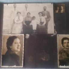 Fotografía antigua: ALBUM FAMILIAR CON MAS DE 280 FOTOGRAFÍAS, AÑOS 30, 40 Y ALGO DE 50. MAYORÍA AÑOS 30.. Lote 200117743