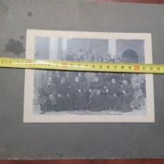 Fotografía antigua: ONTENIENTE VALENCIA , GRUPO ANTIGUO ALUMNOS DEL COLEGIO.. Lote 200135811