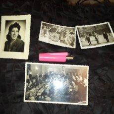 Fotografía antigua: FOTOGRAFÍAS FAMILIA APELLIDO BOLANS?BOLANT?FURIO DEVESA ALEGRE FALLA ABROCADORES? VALENCIA BENIMAMET. Lote 201164751