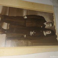 Fotografía antigua: FOTOGRAFÍA ANTIGUA AÑOS 40 SOBRE CARTÓN.. Lote 203006741