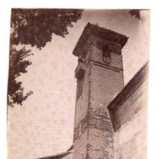Fotografía antigua: GRANADA.- TORRE DEL MONASTERIO SANTA ISABEL LA REAL. 8X11.. Lote 203639317