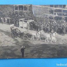 Fotografía antigua: ANTIGUA FOTOGRAFIA - EL REY DE ESPAÑA ALFONSO XIII EN SU VIAJE A BUDAPEST, AÑO 1908. Lote 204252306