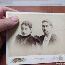 Fotografía antigua: FOTO ANTIGUA ,A.GARCIA VALENCIA SUEGRO DE JOAQUÍN SOROLLA Y BASTIDA.. Lote 204316782