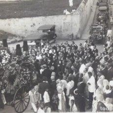 Fotografía antigua: F-4679. INSTANTANEA DE UN ENTIERRO EN BARCELONA. PRINCIPIOS SIGLO XX.. Lote 205598447