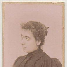 Fotografía antigua: FOTO DE ENRIQUETA ROCAFULL. FOTOGRAFO RAFAEL ROCAFULL. CADIZ. SOBRE 1870 - ALBUMINA-2897. Lote 206824411