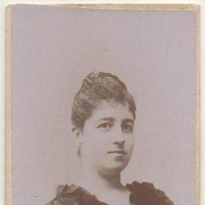 Fotografía antigua: FOTO DE BELEN ROCAFULL Y MONTERO. FOTOGRAFO RAFAEL ROCAFULL. CADIZ. SOBRE 1875 - ALBUMINA-2901. Lote 206825138