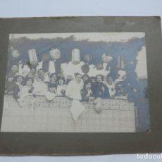Fotografía antigua: FOTOGRAFIA DE LOS CARNAVALES, CARNAVAL, AÑO 1910 / 20, MIDE 23 X 18 CMS. NO LOCALIZADA.. Lote 206916173